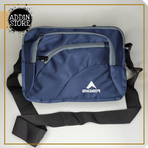 Foto Produk Sling Bag EIGER Tas Selempang EIGER MURAH Tas Pria Waistbag EIGER 042 - Biru dari Addin Official