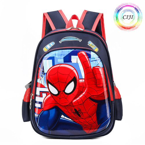 Foto Produk [ COD ] CIJI Tas Ransel / Backpack / Sekolah Anak Laki-Laki Spiderman - Close Up dari Circle Jaya Indonesia