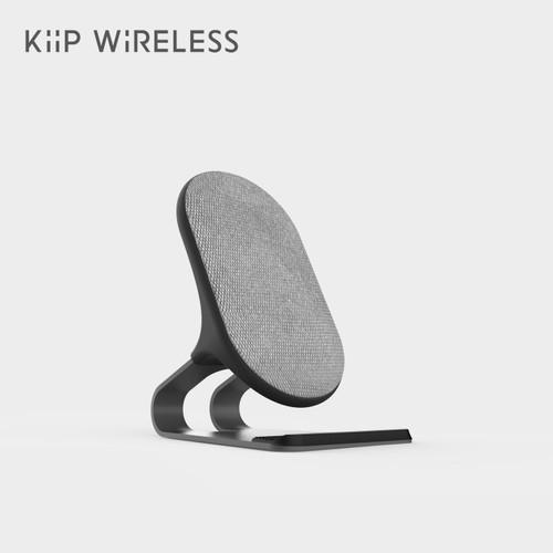 Foto Produk KIIP C9 WIRELESS CHARGER DOCKING 20W QI FAST CHARGING - Hitam dari KIIP Official Store