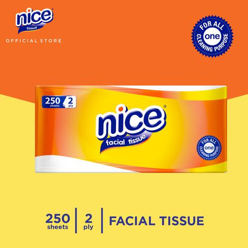 Foto Produk Nice Tissue Wajah Soft Pack 250 Sheets dari Paseo Tissue Official
