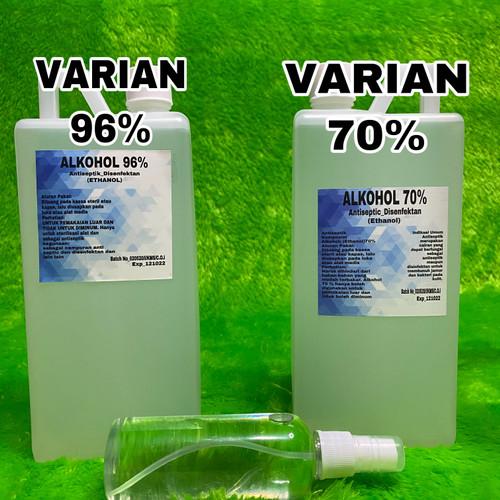 Foto Produk ALKOHOL 70% 1 LITER 96% 1 LITER HARGA GROSIRAN - Alkohol 70 dari cliger shop