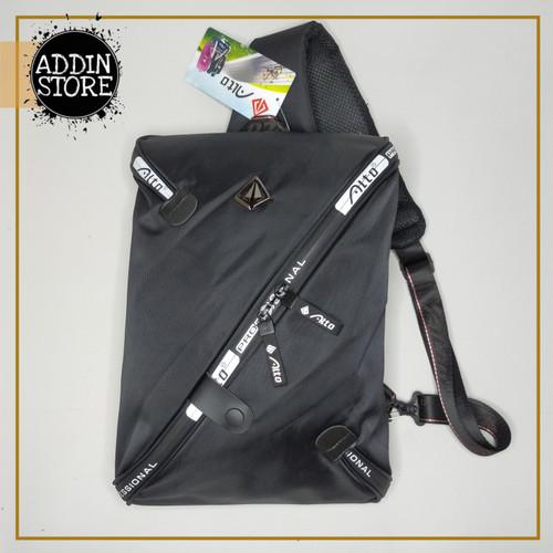 Foto Produk Tas Selempang Pria Anti Air JUNGLESURF ORIGINAL Waist Bag Murah 011 dari Addin Official