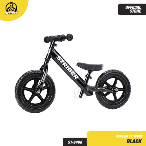 Foto Produk STRIDER BIKE 12 SPORT BLACK ST-S4BK - BALANCE BIKE dari Strider Bikes Indonesia