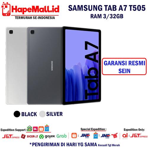Foto Produk SAMSUNG GALAXY T505 TAB A7 2020 RAM 3/32GB GARANSI RESMI SEIN TERMURAH - Abu-abu dari Hapemall.id