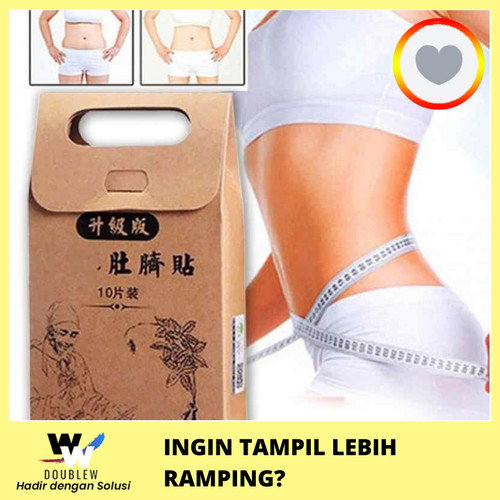 Foto Produk 10pcs Strongest Weight Loss Slimming Diets Slim Patch Pads Detox dari DoubleW
