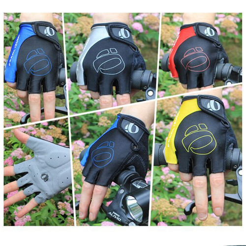 Foto Produk Sarung Tangan Sepeda Olahraga Gym GeL / Pearl Izumi Gloves PI01 - Abu-abu, L dari Arsuxeo Indonesia
