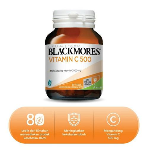 Foto Produk Blackmores VIT C 500 mg isi 60 pcs Vitamin C dari Toko Oneway