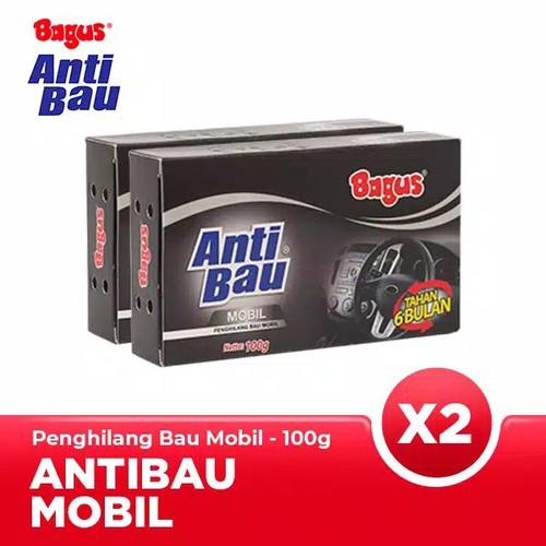 Foto Produk [Twin Pack] Bagus Anti Bau Mobil 100g penghilang bau mobil(2PCS) BLACK dari sale murah penpen