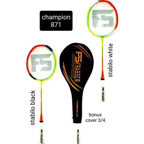 Foto Produk raket badminton frasser champion 871 bonus tas 3/4 dari Pusat Grosir OLAHRAGA