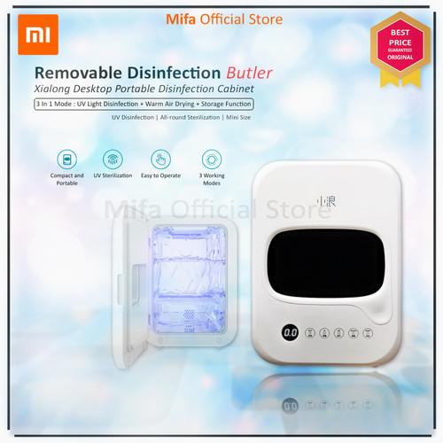 Foto Produk Xiaomi Xiaolang Portable Desktop Disinfection Sterilizer UV HD-ZMXDJ01 dari MiFa Official Store