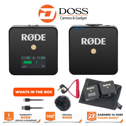 Foto Produk Rode Wireless GO Compact / Rode Wireless GO / Mic Rode Wireless GO dari DOSS