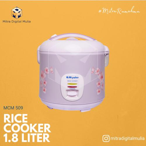 Foto Produk Miyako MCM 509 Rice Cooker Magic Com 3 in 1[ 1.8 Liter ] dari Mitra Digital Mulia
