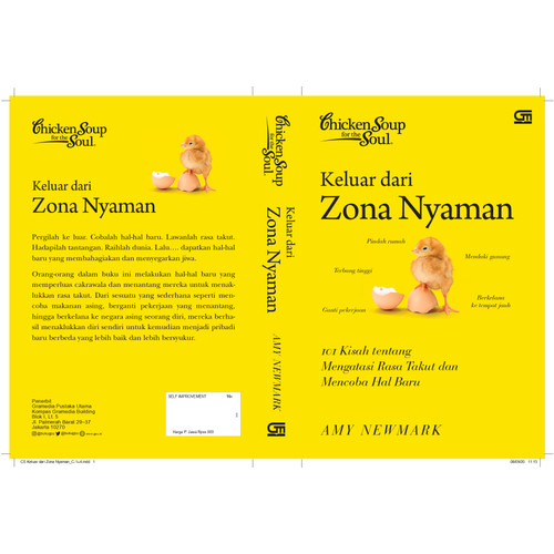 Foto Produk CHICKEN SOUP FOR THE SOUL: KELUAR DARI ZONA NYAMAN dari Gramedia Official Store