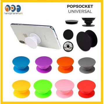 Foto Produk Popsocket Phone Holder Pop Socket Polos Phone Grip Stand Hp Universal dari HandphoneTiam