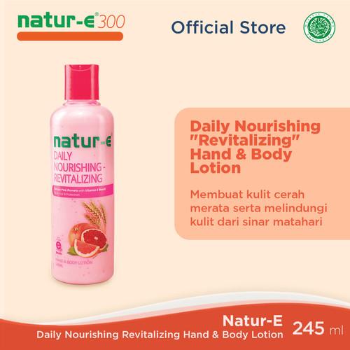 Foto Produk Natur-E 300 IU Revitalizing Hand Body Lotion 245 ml dari Natur-E Official Store
