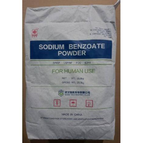Foto Produk Sodium Benzoate RRC Food Grade 1 Kg dari CV. NURA JAYA