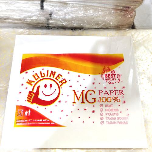 Foto Produk Kertas nasi KFC/kertas nasi minyak/pembungkus makanan isi 100lembar dari Layva