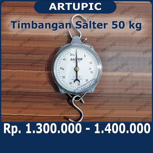 Foto Produk Timbangan Gantung Salter 50 Kg Jarum Original England Kalibrasi dari ArtupicPeralatanPeternak