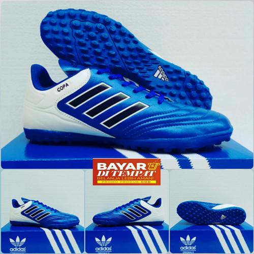 Foto Produk Sepatu Futsal Adidas Copa dewasa - Biru, 39 dari ARRANstore