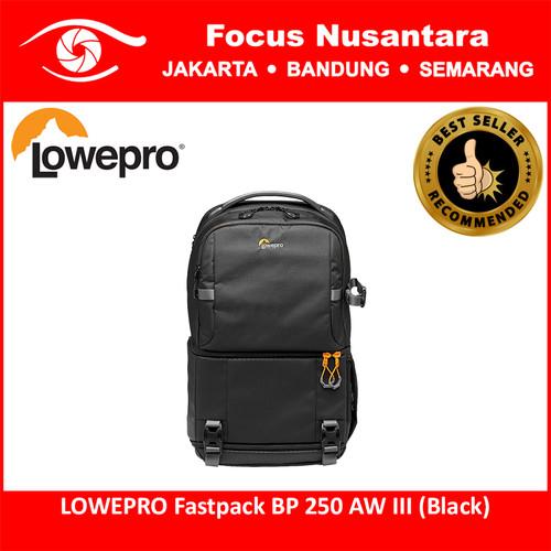 Foto Produk LOWEPRO Fastpack BP 250 AW III (Black) dari Focus Nusantara