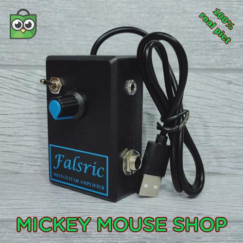 Foto Produk Ampli Gitar Mini : Falsric Mini Guitar Amplifier dari MICKEY MOUSE SHOP