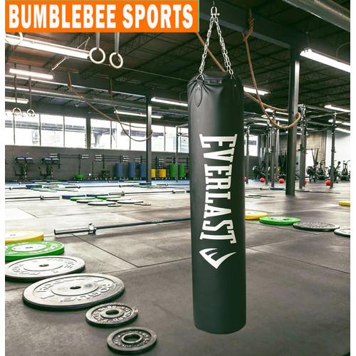 Foto Produk Samsak Muaythai Everlast 1,5 Meter - Sansak Tinju Rantai Beladiri MMA dari Laserba Store