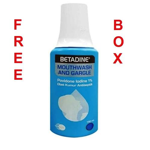 Foto Produk Betadine Obat Kumur 190 ml dari Beli -Beli shop