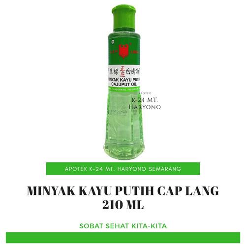 Foto Produk Cap Lang Minyak Kayu Putih 210ml dari K24 MT.Haryono