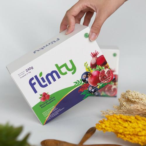 Foto Produk Flimty Fiber Detox   Rasa Blackcurrant/Raspberry 1 Box - Blackcurrant dari Klik Flimty