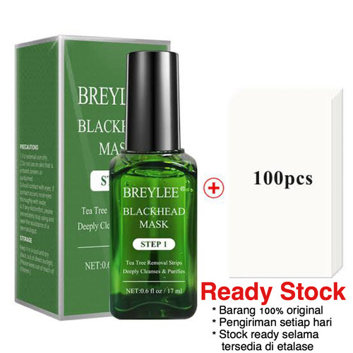 Foto Produk READY! BREYLEE BLACKHEAD MASK + 100 lembar mask ORIGINAL STEP 1 dari Beautycare Tan