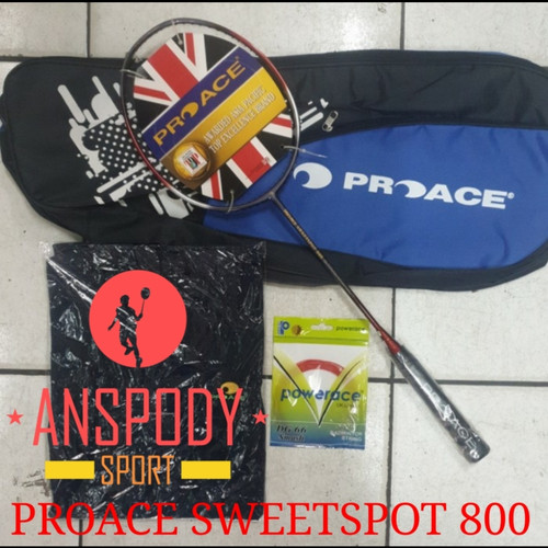 Foto Produk RAKET BADMINTON PROACE SWEETSPOT 800 dari Anspody Sport