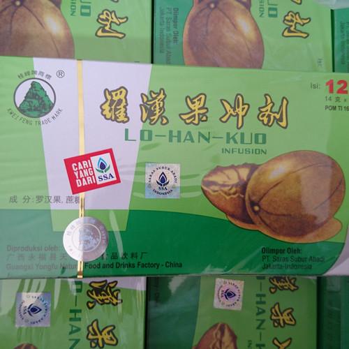 Foto Produk Lo Han Kuo Pereda Panas Dalam Sakit Tenggorokan Dan Sariawan dari good_price store 2