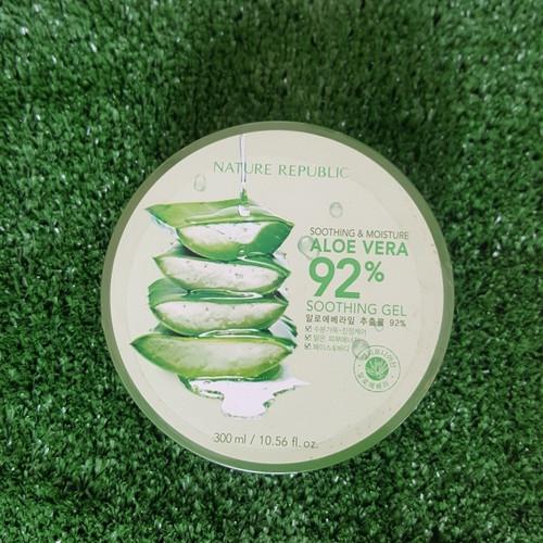 Foto Produk Garansi Original Nature Republic Aloe Vera 92% Pelembab Kulit Wajah - Ada Noda label dari RAY GROSIR ORIGINAL