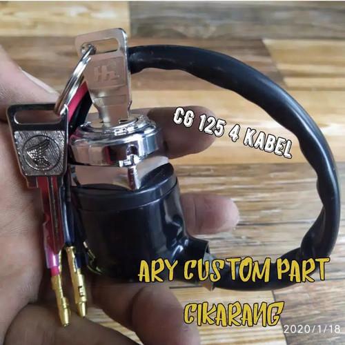 Foto Produk Kunci kontak cb 100 CG 125 gl 100 gl 125 gl pro Megapro Tiger 4 kabel dari INDO GROSIR SHOPS