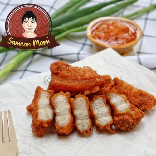 Foto Produk Frozen Samcan Goreng MAMI 500gr - Daging NonLemak dari Samcan Mami