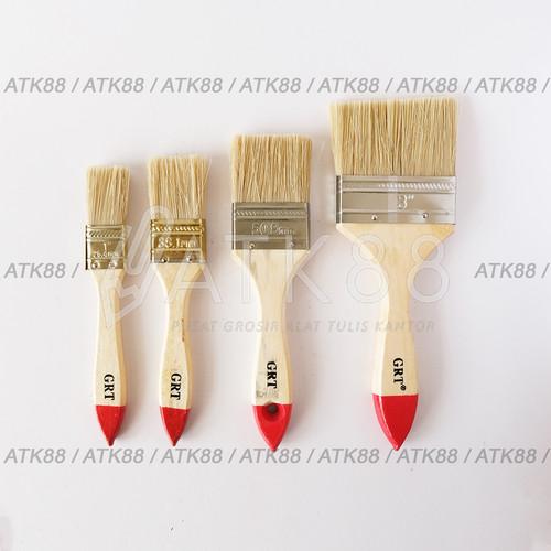 Foto Produk Kuas Cat Gurita SATUAN Ukuran 1 1.5 2 2.5 3 4 Inch Paint Brush Koas - Gurita 633 3 dari Pusat Grosir ATK 88