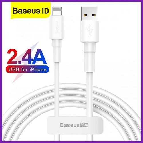 Foto Produk Baseus Mini White Lightning Kabel Data iPhone Fast Charging Apple dari Baseus ID