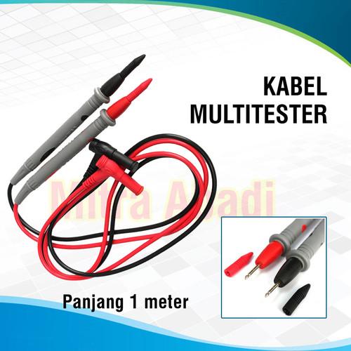 Foto Produk Kabel Multitester / Avometer 1000V 10A Panjang 1 Meter High Quality dari Toko Mitra Abadi