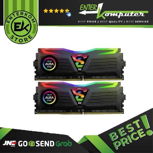 Foto Produk Geil DDR4 AMD EDITION SUPER LUCE SYNC RGB LED PC25600 Dual Channel 16G dari Enter Komputer Official