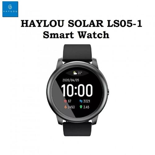 Foto Produk HAYLOU SOLAR LS05-1 - Sporty IP68 Smart Watch with Heart - OLB4602 dari Jelambarshop71