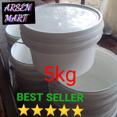 Foto Produk ember kotak ,ice cream, cat 5 kg dari arsenmart