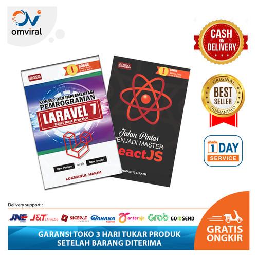 Foto Produk Buku Paket Fullstack Developer Laravel 7 + Reactjs dari Omviral Online Shop