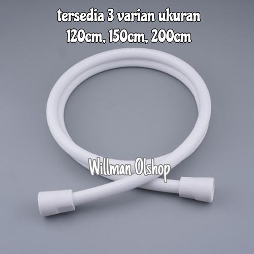 Foto Produk SELANG SHOWER MANDI / BIDET / CLOSET / TOILET - 120 cm dari Willman Olshop