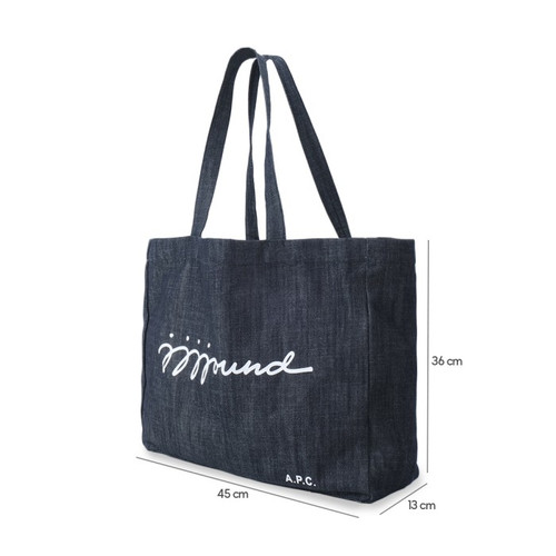 Foto Produk A.P.C X JJJJound Tote Bag Indigo - L dari gunawan sukses holiday