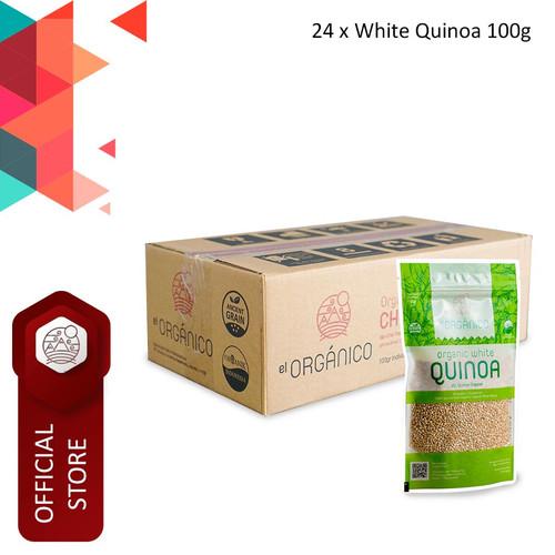 Foto Produk White Quinoa Organic El Organico 100gr (Carton Box) dari ELorganico