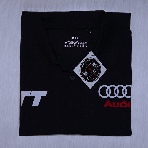 Foto Produk Kaos Polo Shirt Pria Wanita - Audi TT dari Miw Clothing