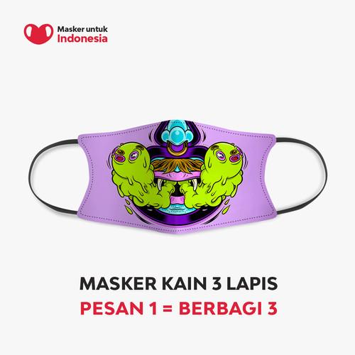 Foto Produk Muklay x Masker untuk Indonesia dari Masker untuk Indonesia