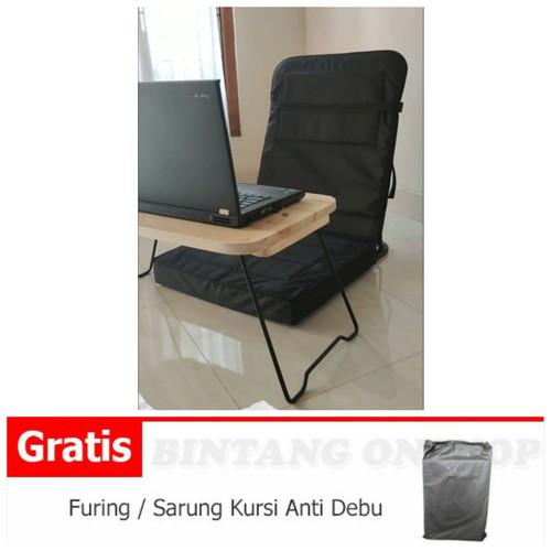 Foto Produk KURSI LESEHAN MOTIF / LIPAT / MALAS / SANTAI / LANTAI / ANAK KOST dari Bintang#1 Onshop