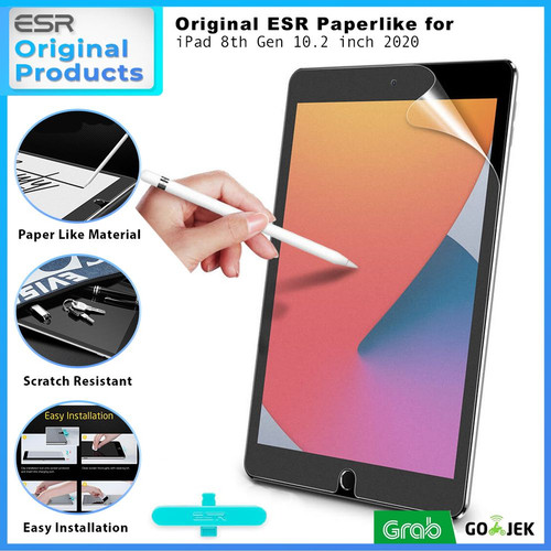 Foto Produk ESR Paperlike Screen Protector iPad 8 2020 Screen Guard Anti Gores dari GadgetLifestyle Official