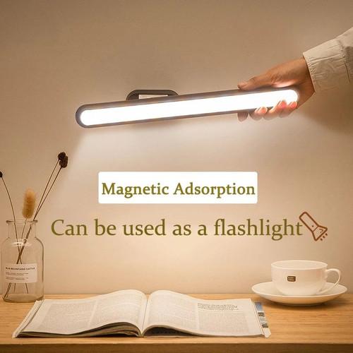 Foto Produk Triple W Lampu Neon LED USB Portable Tempel Lemari Meja Belajar Kerja - Lampu Kuning dari Triple W Official